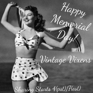 MONDAY 5/25 Vintage Vixens Sign Up Sheet
